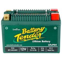 Battery Tender 10-14 Ah Lithium Iron Power Sports Battery