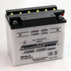 YB16L-B / CB16L-B High Performance Power Sports Battery