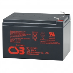 CSB GP12120 (F2) 12 Volt 12 Ah Sealed Lead Acid Battery