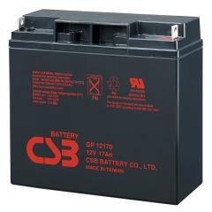 CSB GP12170 12 Volt 17 Ah Sealed Lead Acid Battery