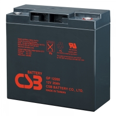 CSB GP12200 12 Volt 20 Ah Sealed Lead Acid Battery