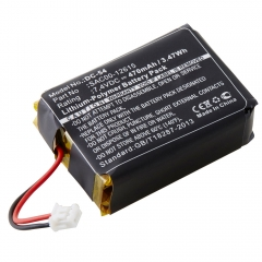 Replacement SportDOG SD-1225, SDT54-13923 dog collar transmitter battery, 7.4 Volts 470 mAh lithium polymer