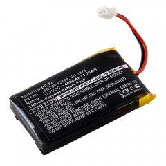 Replacement battery for SportDOG SD-1875 Remote Beeper and SD-2525 Transmitter dog collars.