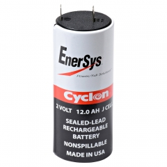 Enersys CYCLON-J 2 Volt 12.0 Ah X Cell Sealed Lead Acid Battery