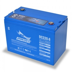 Fullriver DC220-6 Deep Cycle AGM Battery, Group Size 27 6V