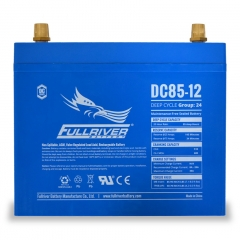 Fullriver DC85-12 Deep Cycle AGM Battery, Group Size 24