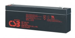 CSB GP1222 (F1/F2) 12 Volt 2.2 Ah Sealed Lead Acid Battery