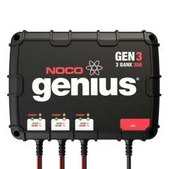 NOCO Genius GEN3 3 bank on-board marine boat battery charger