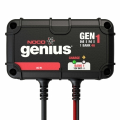 NOCO Genius GENM1 single battery on-board marine boat battery charger