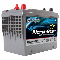 NorthStar NSB-AGM24 Group Size 24 Marine Battery
