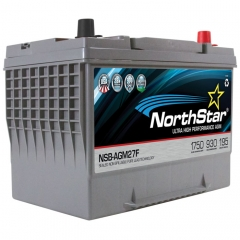 NorthStar NSB-AGM27F Group Size 27F Battery
