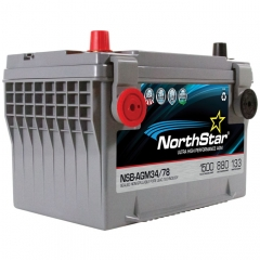 NorthStar NSB-AGM34/78 Group Size 34/78 Battery
