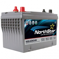 NorthStar NSB-AGM34 Group Size 34 Marine Battery