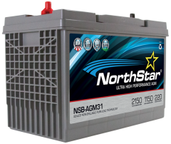 NorthStar NSB-AGM31A Group Size 31 Battery