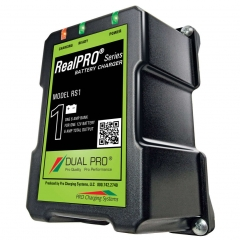 Dual Pro RealPRO RS1 single battery on-board battery charger.