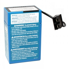 Power Wheels Battery - 6 Volt Blue Case