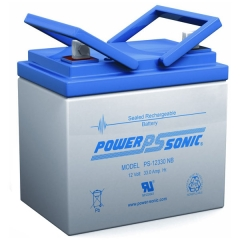 PS-12330 - 12 Volt 33 Ah Sealed Lead Acid Battery
