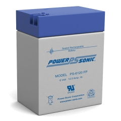 PS-6120 - 6 Volt 12 Ah Sealed Lead Acid Battery