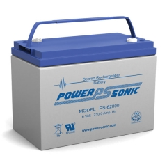 PS-62000 - 6 Volt 200 Ah Sealed Lead Acid Battery