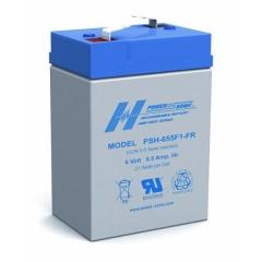 PSH-655FR - 6 Volt 5.5 Ah Battery