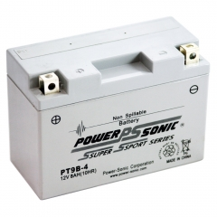 PT9B04 Factory Activated AGM Power Sports Battery
