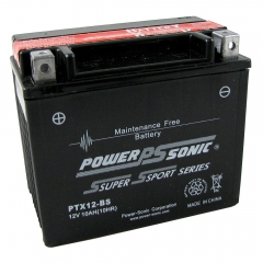 PTX12-BS AGM Power Sports Battery