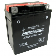 PTX7L-BS AGM Power Sports Battery