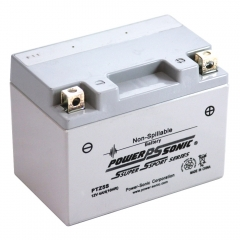 PTZ5S AGM Power Sonic Power Sports Battery. Factory Activated 12 Volt AGM Battery.