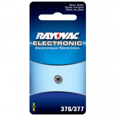 Rayovac 376 / 377 Silver Oxide Battery