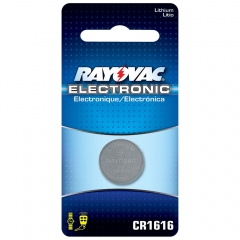 Rayovac CR1616 Lithium Battery