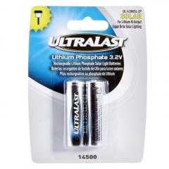 UltraLast UL14500SL-2P LiFePO4 Batteries, 2 Pack