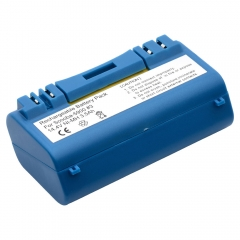 Replacement battery for iRobot Scooba floor scrubbers.