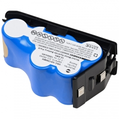 Replacement Battery for Euro-Pro Shark UV615, UV615H, UV615K, UV627 cordless vacuum cleaners.