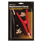 Replacement mechanic style jumper cable and jump starter pack clamps