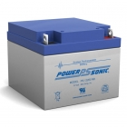 PS-12260 - 12 Volt 26 Ah Sealed Lead Acid Battery