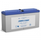 PS-1282L - 12 Volt 9 Ah Sealed Lead Acid Battery
