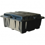 Dual Group Size 8D Battery Box, Side-by-Side