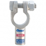 1 & 2 Gauge Fusion Solder Straight Terminal Clamp Connector