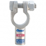 4 & 6 Gauge Fusion Solder Straight Terminal Clamp Connector