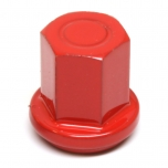 "Stainless Steel 3/8"" Closed Cap Epoxy Red"