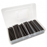 Double Wall Heat Shrink Tube Kit, Black 62 Piece
