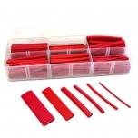 Single Wall Red Heat Shrink Tube Kit, 158 Pieces