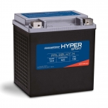 Hyper Sport PAL30LHY-H, by Power Sonic, is a high performance, light weight, lithium iron phosphate (LiFePO4) starting battery for select power sports vehicles.