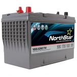 NorthStar NSB-AGM27M Group Size 27 Marine Battery