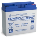 Power Sonic 12 Volt 20 Ah Battery, PS-12200