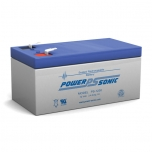 PS-1230 - 12 Volt 3.4 Ah Sealed Lead Acid Battery