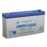 PS-612 - 6 Volt 1.4 Ah Sealed Lead Acid Battery
