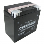 PTX19LBS AGM Power Sports Battery. Sealed maintenance free, spill proof and leak proof design.