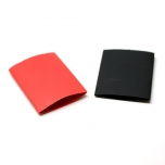 "Heat Shrink Tubing 3/4"" Red and Black"