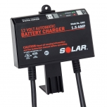 Solar, by Clore Automotive, 1002 On-Board Battery Charger Maintainer. 12 Volt 1.5 Amp Output.